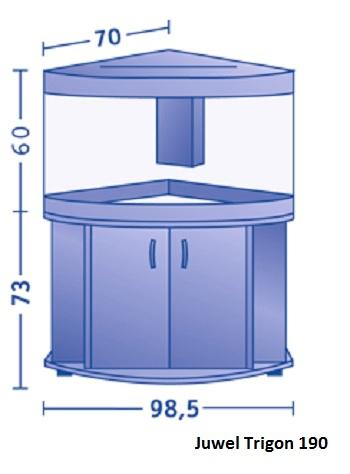 juwel trigon 190 aquariumplus webwinkel. Black Bedroom Furniture Sets. Home Design Ideas
